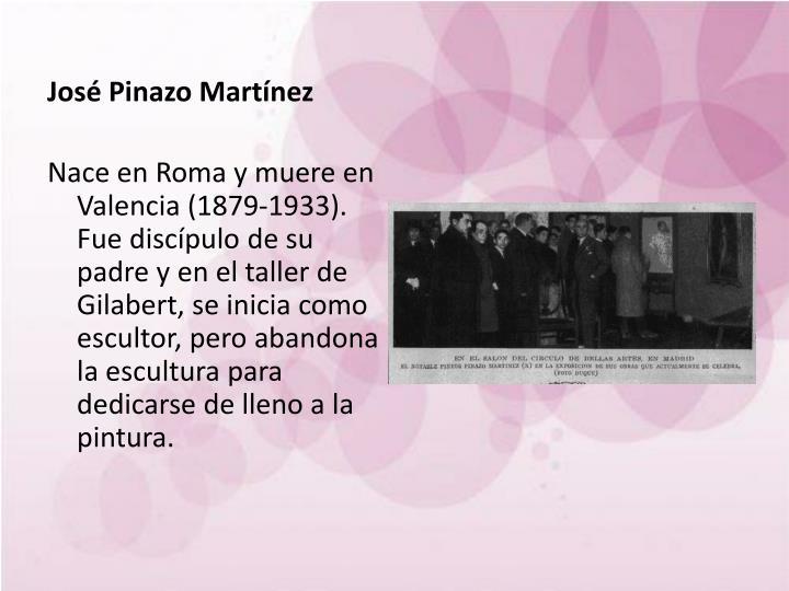 José Pinazo Martínez