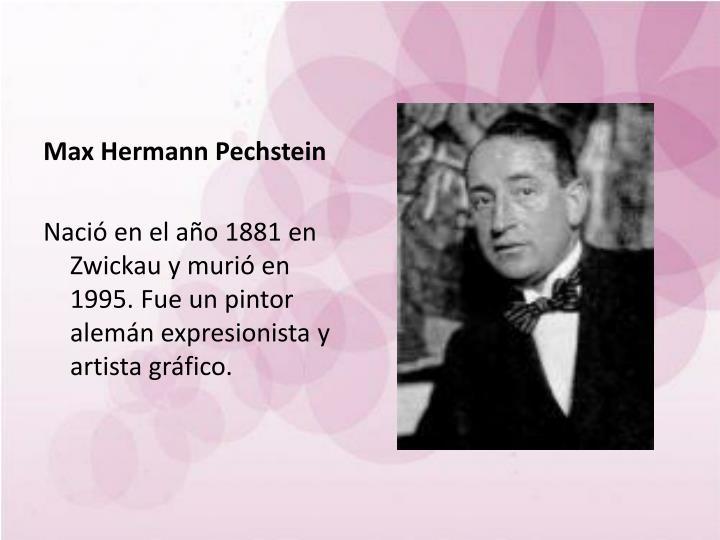 Max Hermann Pechstein