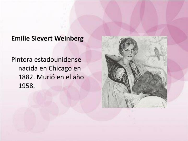 Emilie Sievert Weinberg