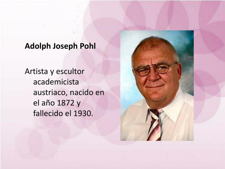 Adolph Joseph Pohl