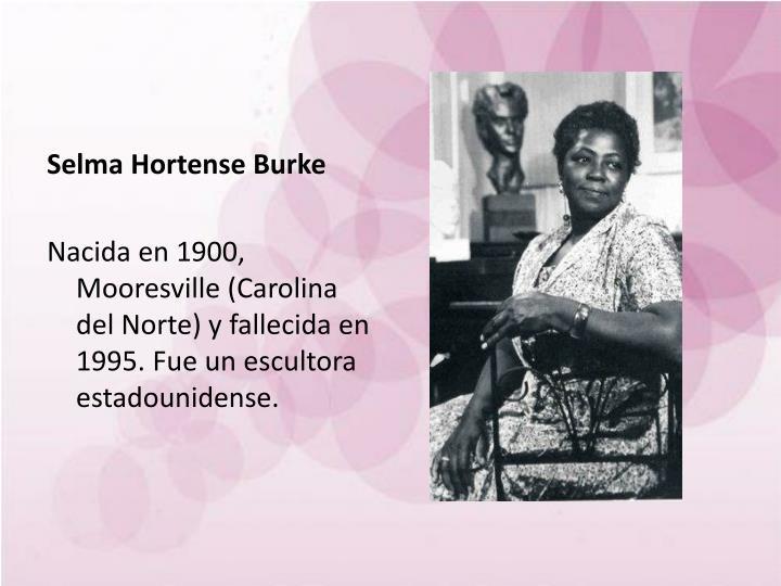 Selma Hortense Burke