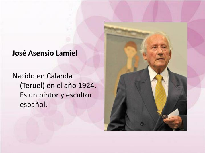 José Asensio Lamiel