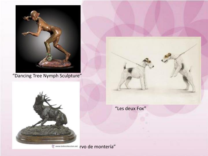"""Dancing Tree Nymph Sculpture"""