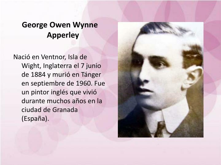 George Owen Wynne Apperley