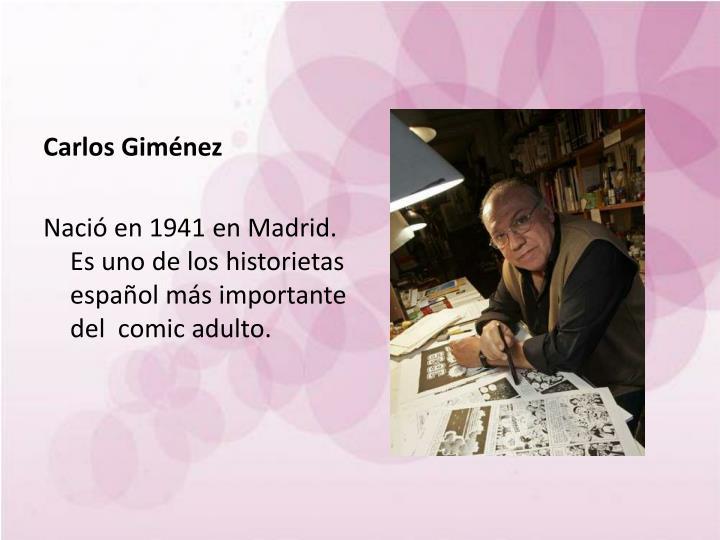 Carlos Giménez