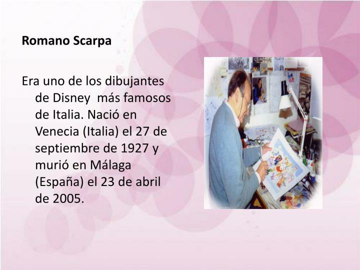 Romano Scarpa