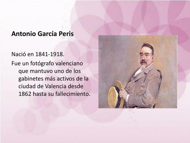 Antonio García Peris