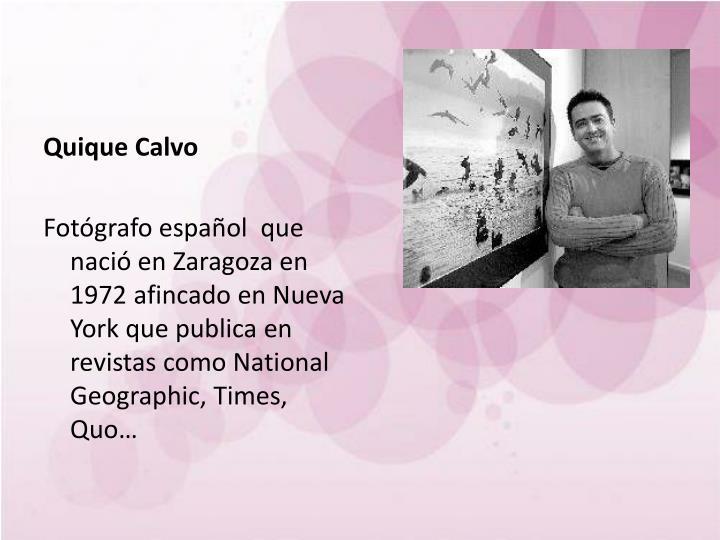 Quique Calvo