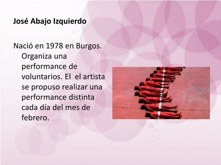 José Abajo Izquierdo