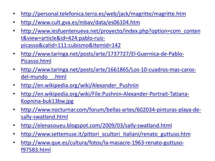 http://personal.telefonica.terra.es/web/jack/magritte/magritte.htm