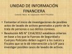 unidad de informaci n financiera convenio marco de cooperaci n ms n 7751 2012