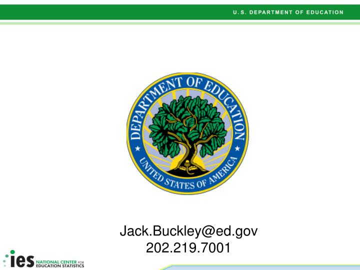 Jack.Buckley@ed.gov