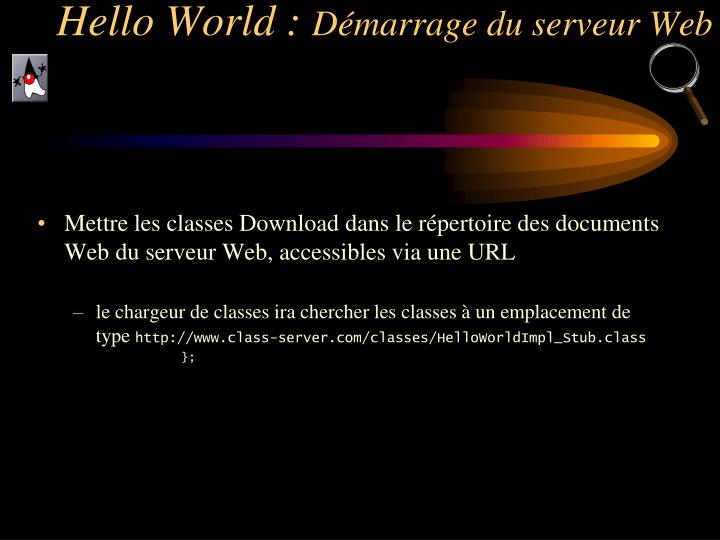 Hello World :