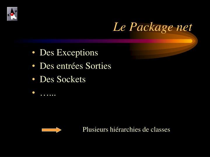 Le Package net