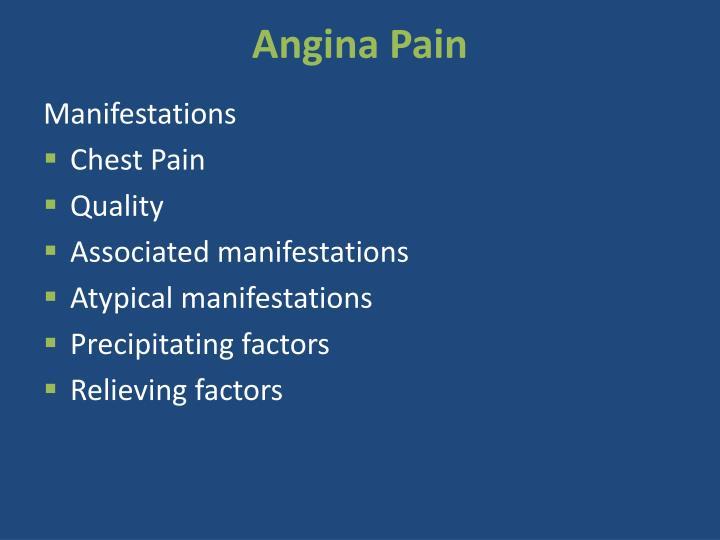 Angina Pain