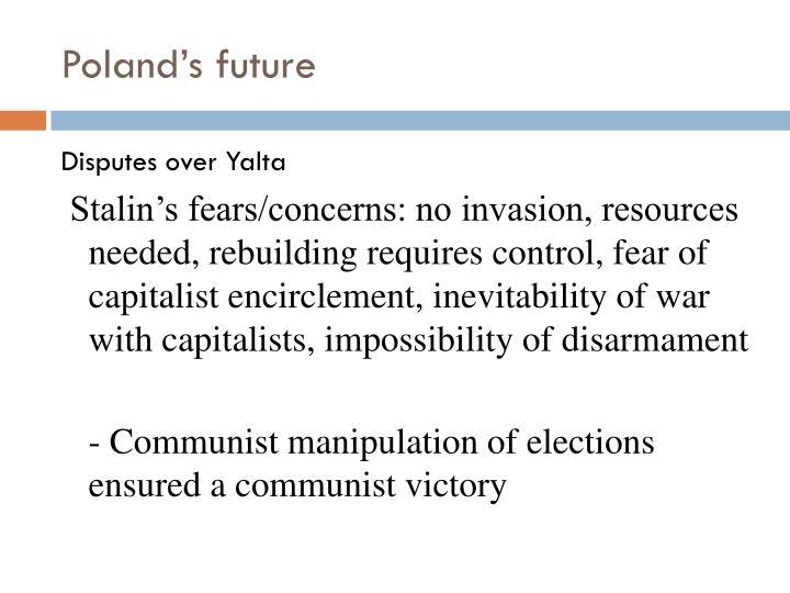 Poland's future