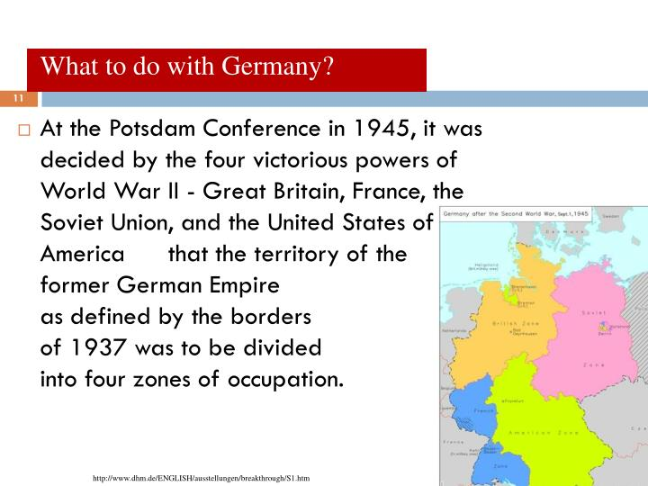What to do with Germany?