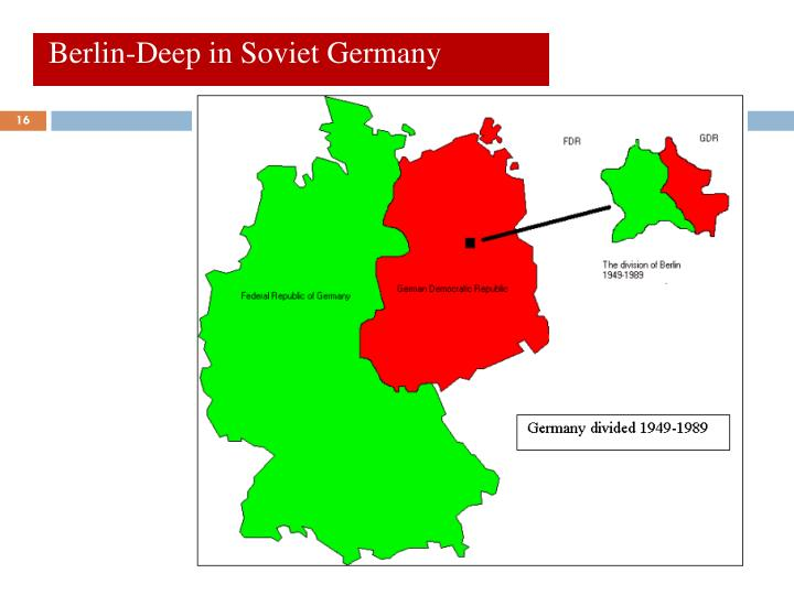 Berlin-Deep in Soviet Germany