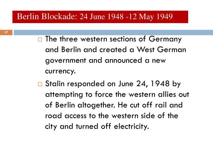 Berlin Blockade: