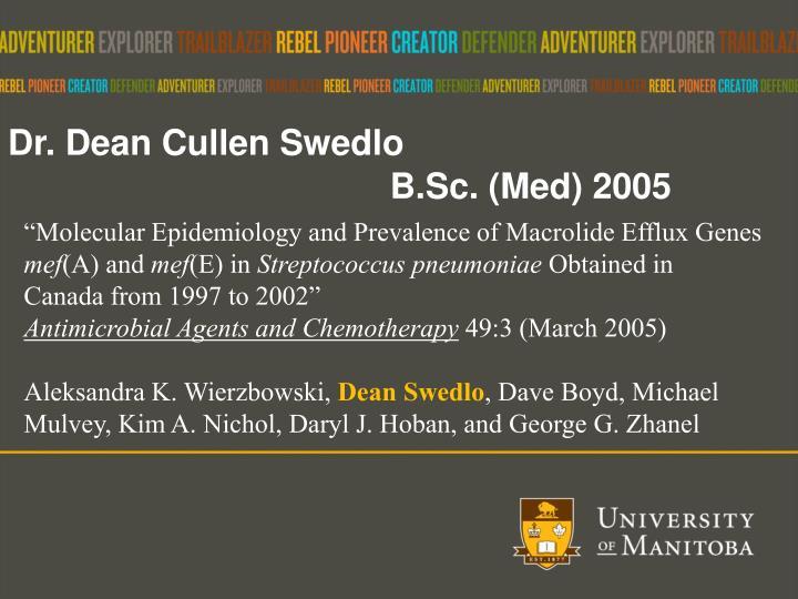 Dr. Dean Cullen