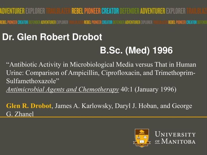 Dr. Glen Robert