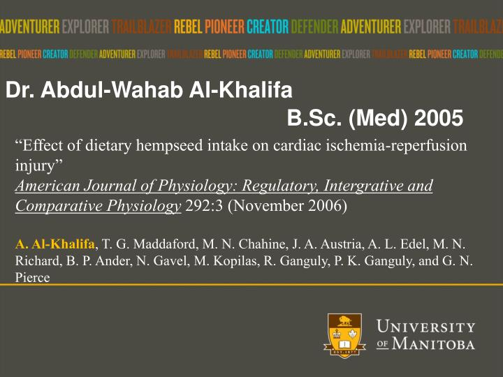 Dr. Abdul-