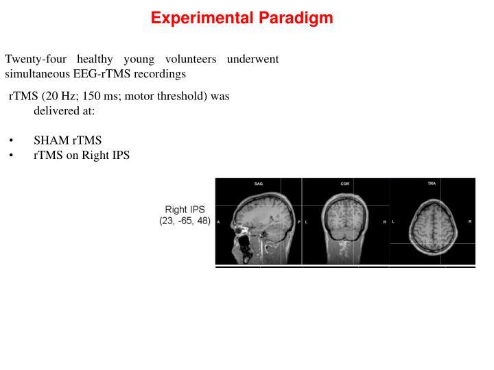 Experimental Paradigm