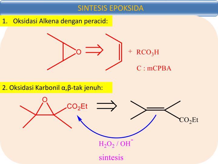 SINTESIS EPOKSIDA
