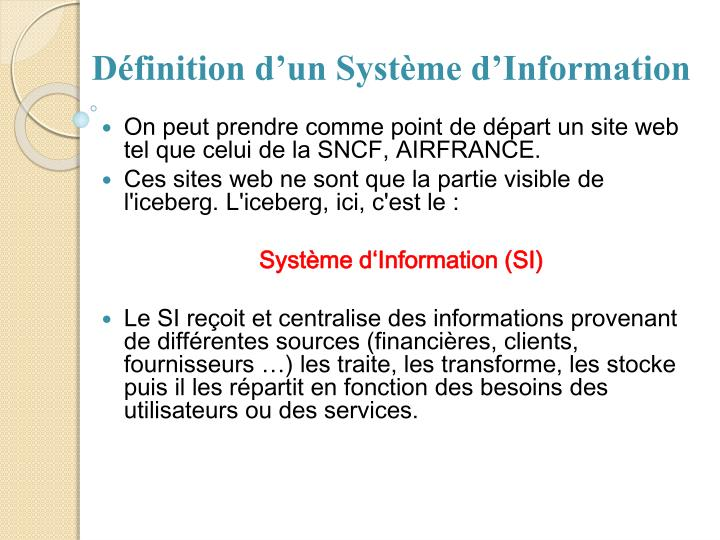 Ppt architecture des syst mes d 39 information powerpoint presentation i - Systeme centralise definition ...