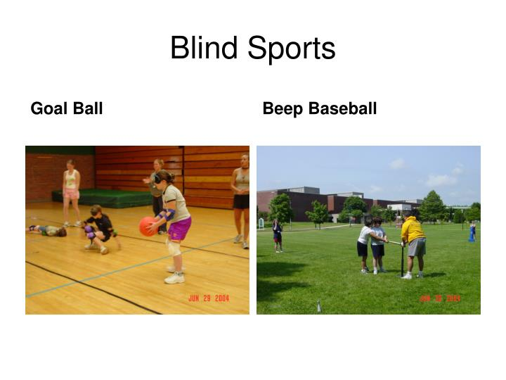 Blind Sports
