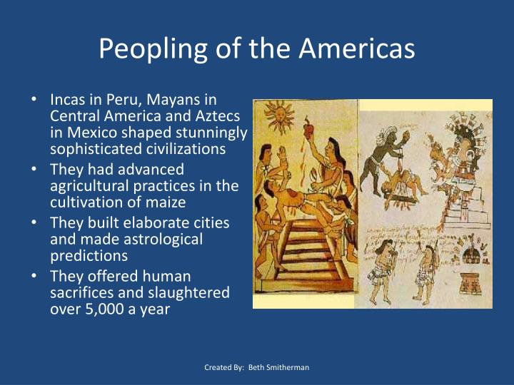 Peopling of the Americas
