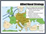 allied naval strategy
