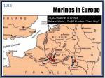 marines in europe