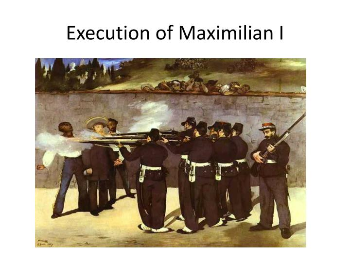 Execution of Maximilian I