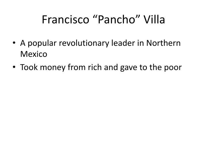 "Francisco """