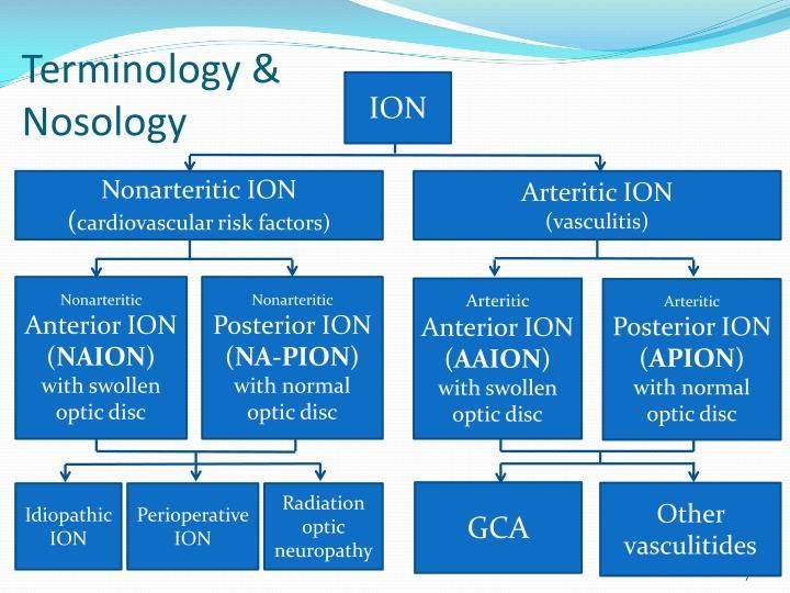 Terminology & Nosology