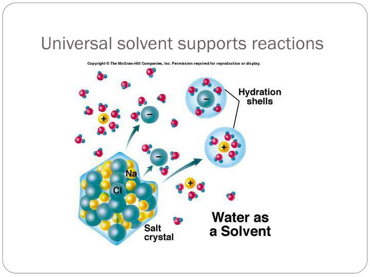 Universal solvent supports