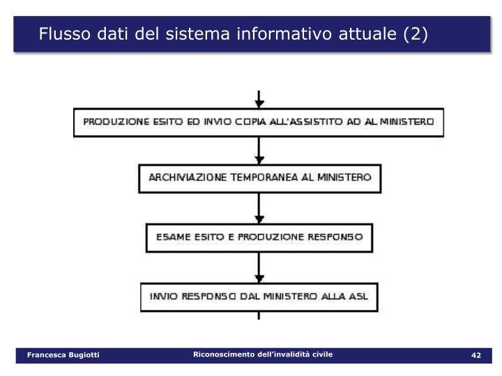 Flusso dati del sistema informativo attuale (2)