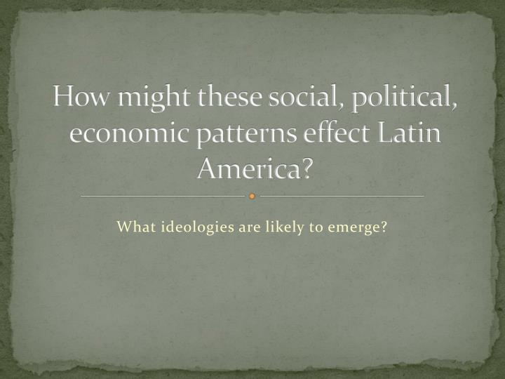 caudillo system in latin america A web-based deck of latin american history midterm nations in latin america for a favor which helped the caudillo to rise in power where: latin.