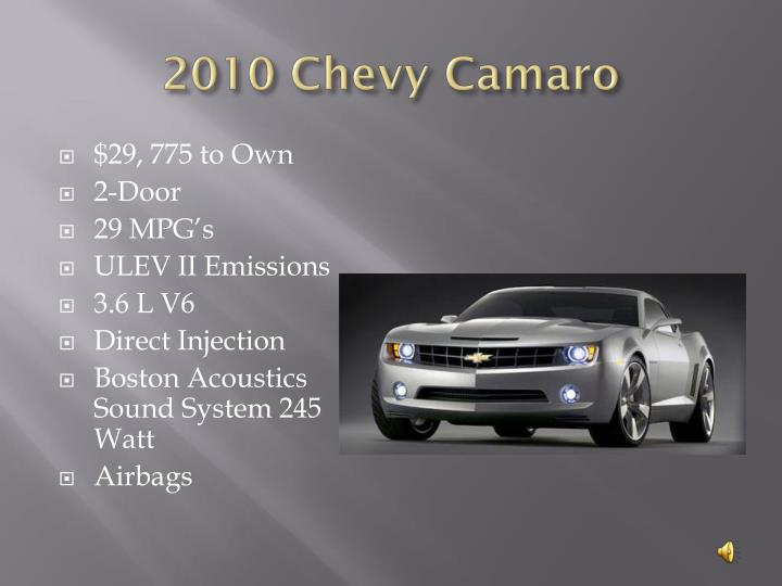 2010 Chevy