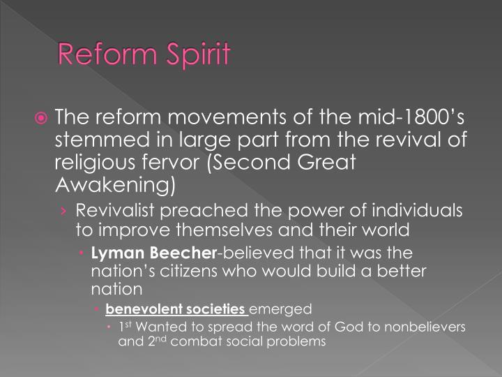 Reform Spirit