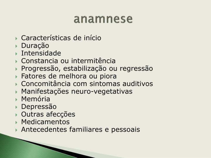 anamnese