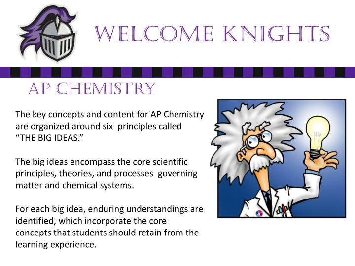 Welcome Knights