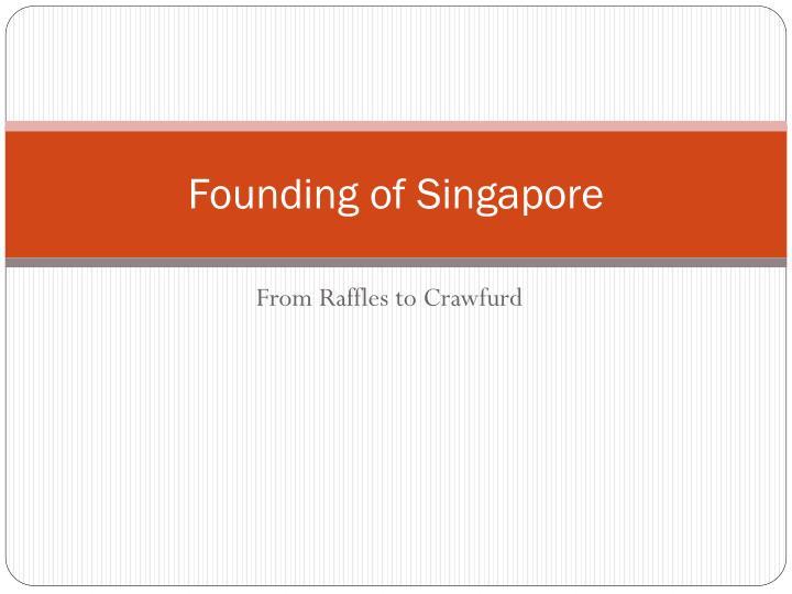 Founding of Singapore