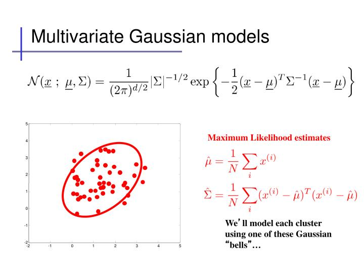 Multivariate Gaussian models