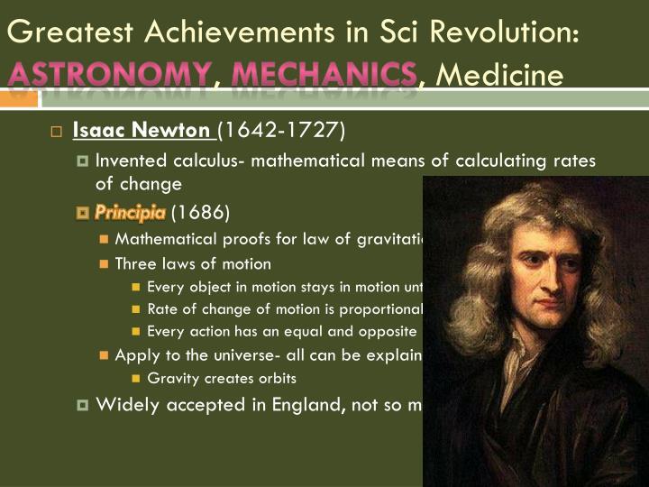 Greatest Achievements in
