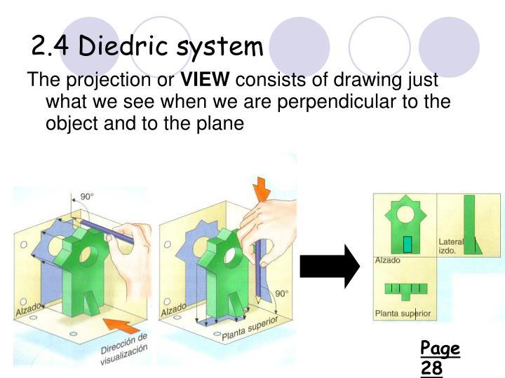 2.4 Diedric system