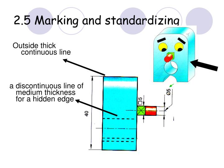 2.5 Marking and standardizing