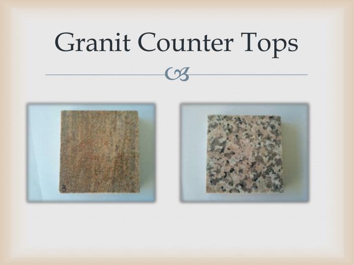Granit Counter Tops