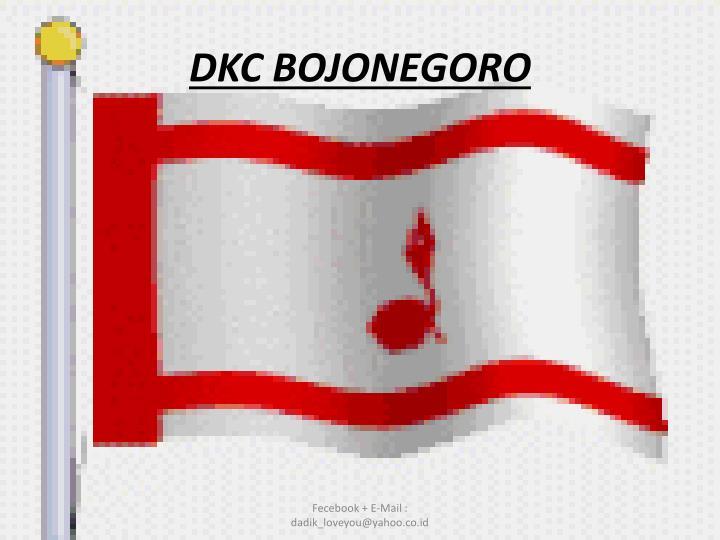 DKC BOJONEGORO